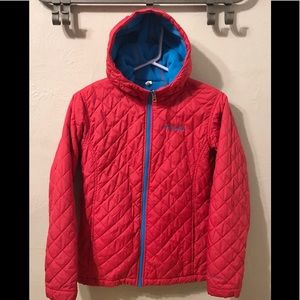 Columbia reversible Quilted fleece lined jacket